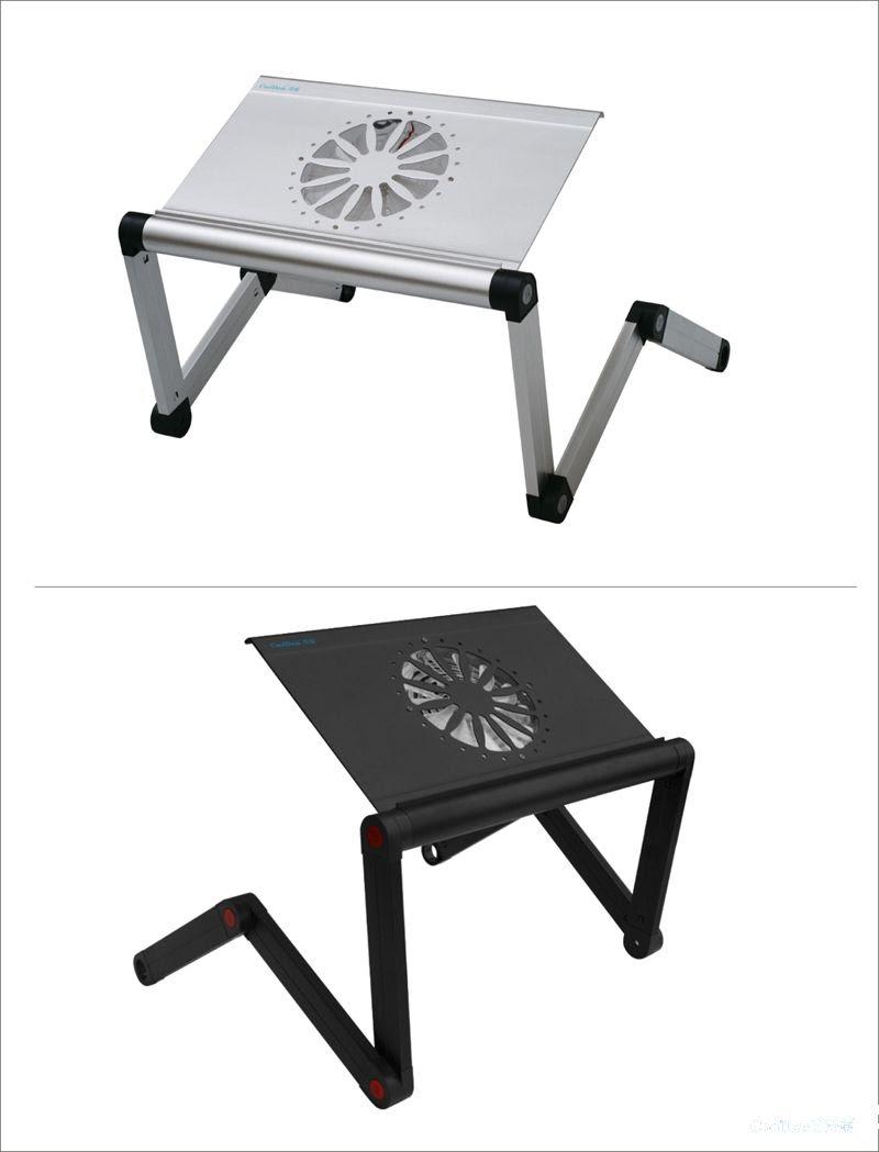 Cheap Laptop Desk - Best Aluminum Laptop Desk Solid Stable Folding ...