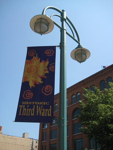 Third Ward sign