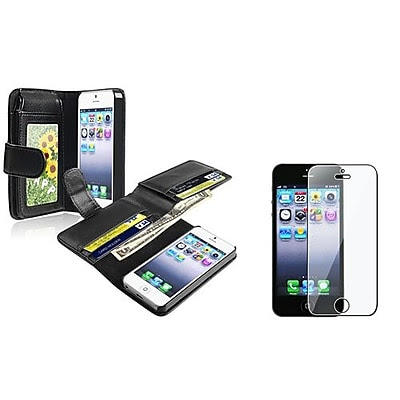 Insten 932982 2-Piece iPhone Case Bundle For Apple iPhone 5/5S/5C