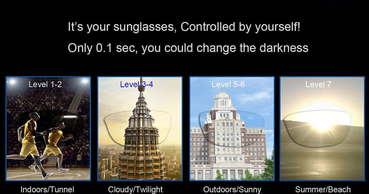 66e320463 Comprar Projeto Original Óculos LCD Lentes Polarizadas Transmissão Da  Escuridão Ajustável Controle Eletrônico Para A Pesca Condução Baratas  Online Preço ...
