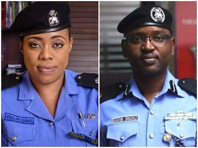 BREAKING NEWS!! Abayomi Sogunle, Dolapo Badmus Dismissed From Nigeria Police Force