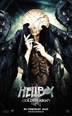 Hellboy II - Angel of Death movie poster