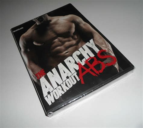 anarchy workout abs mens health andy speer  dvd set