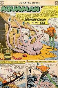 Adventure #252 Aquaman Splash Page