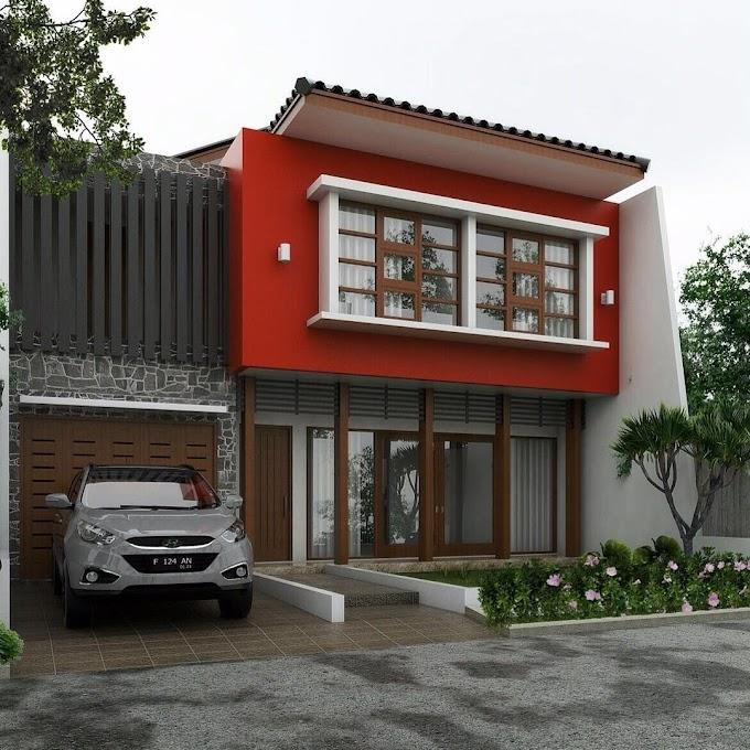 Rumah Minimalis Warna Coklat Muda | Ide Rumah Minimalis