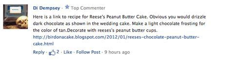 Everyone!Welcome the ?Reeses Peanut Butter Cup Wedding