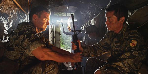 """""""Ride the Thunder"""" main characters Ripley and Major Le Ba Binh"""