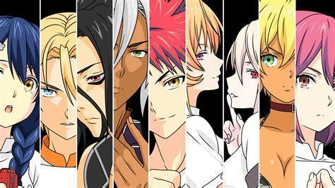 Anime Food Wars: Shokugeki No Soma wallpapers (Desktop