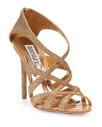 Badgley Mischka Junebug Strappy Sandals