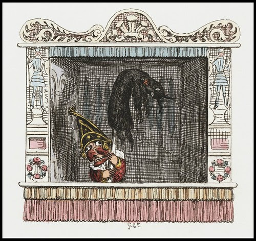 Punch and Judy by George Cruikshank, 1828 n