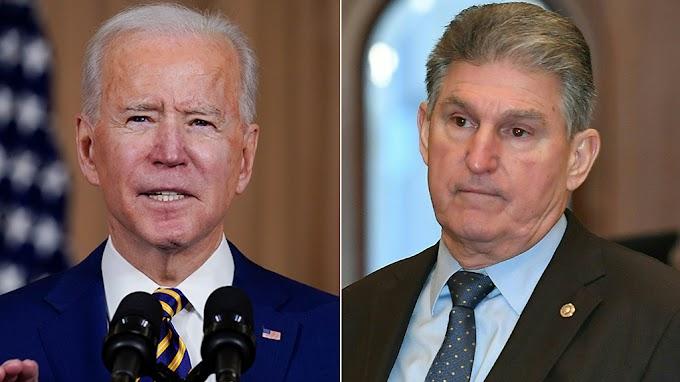 FOX BIZ NEWS: Biden pressured Manchin to back $1.9T stimulus deal during last-minute phone call, book says