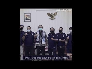 Hendi Ajak Panser Biru Bantu Pemerintah Tegakkan Protokol Kesehatan di Kota Semarang