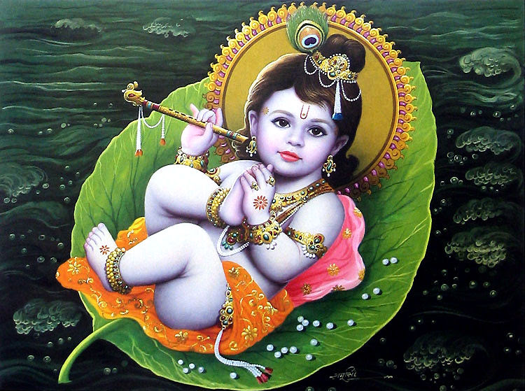 Image result for Lord Narayana as boy