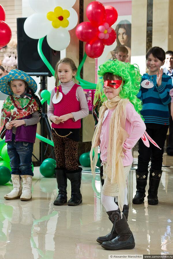 Юная манекенщица - участница конкурса в РИО 8 марта, Саранск
