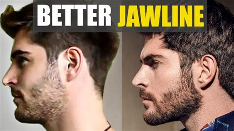 facial hair styles   strong jawline youtube