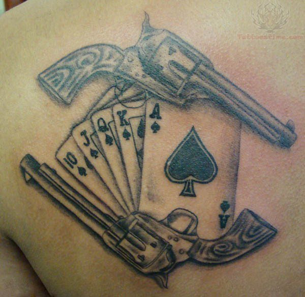 Poker Tattoo Images Designs