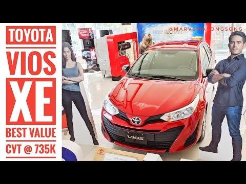 Video: Toyota VIOS 1.3XE AT | Best Value CVT @ 735K | Walk Around W/ Interior (Philippines)