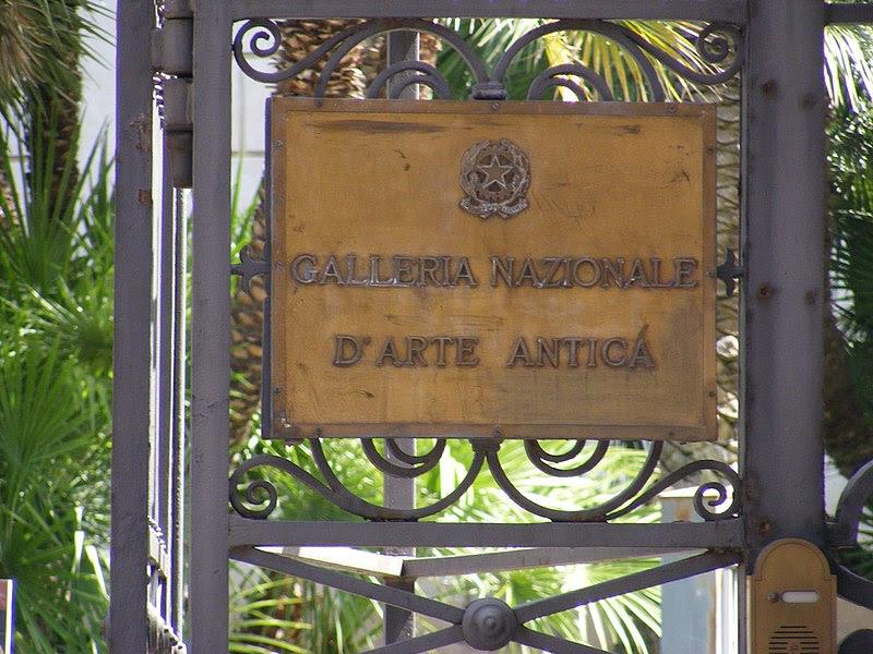 Galleria Nazionale d'Arte Antica, Rome - Sign.jpg