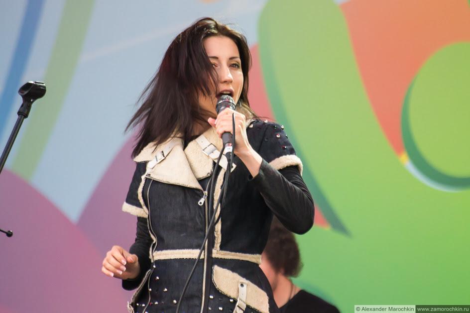 Диляра Вагапова на концерте в Саранске