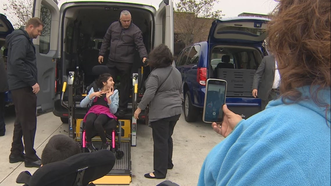 Houston Childrens Charity Gives Families Wheelchair
