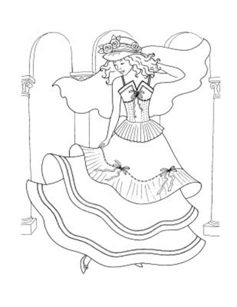 Beautiful Dress Coloring Pages ? Colorings.net