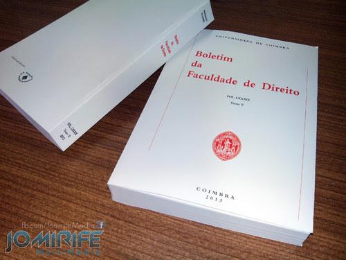 Livro Boletim da Faculdade de Direito da Universidade de Coimbra 2013