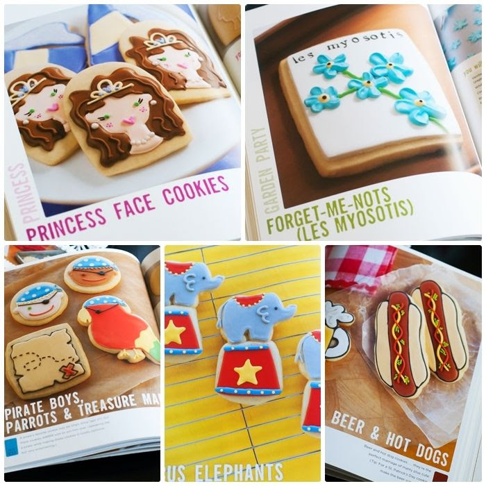 decorated cookie projects from the Decorating Cookies books