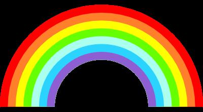 虹のイラスト 無料イラスト作成ソフトinkscapeインクスケープの作品集