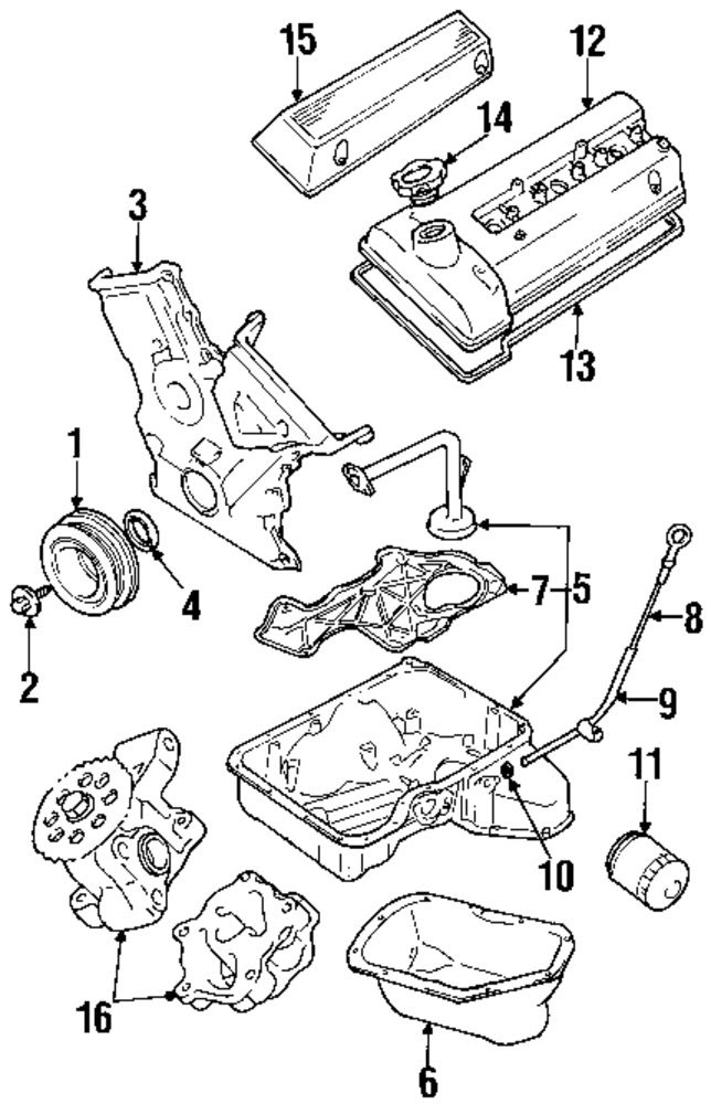2002 Suzuki Grand Vitara Engine Diagram