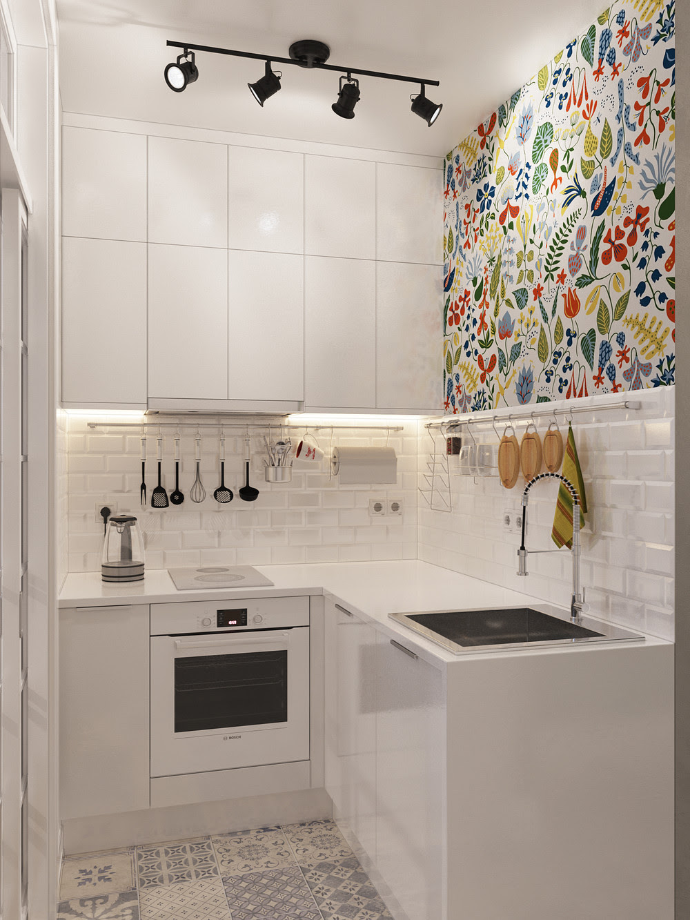 innovative kitchen designs for small spaces