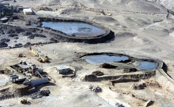 La mineria ilegal afecta las Pampas de Jumana en Ica. (Foto: Asociación María Reiche)