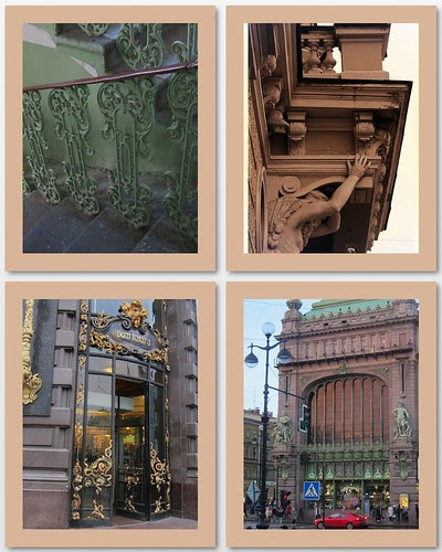 Art-Nouveau-in- St. Petersburg by Anna Amnell