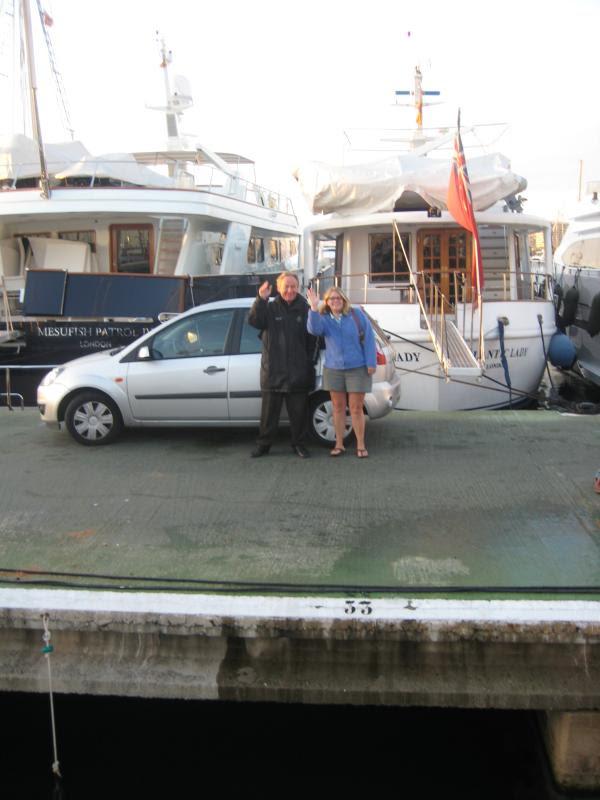 Wild Tigris - Heidi on the dock