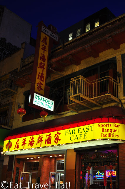 Far East Cafe- Chinatown, San Francisco, CA: Exterior