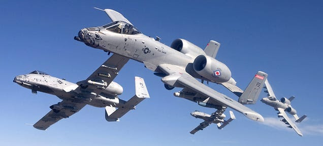 The USAF's Much Maligned A-10 Warthogs Are Deploying To Fight ISIS