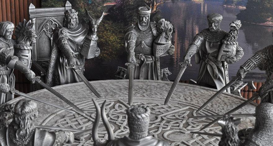 Les Chevaliers De La Table Ronde Le Roi Arthur Ne Se