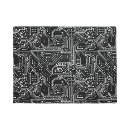Computer Circuit Board Door Mat