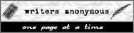 [ Writers Anonymous logo ]