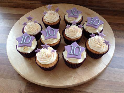 10th Wedding Anniversary cupcakes   My 10th year