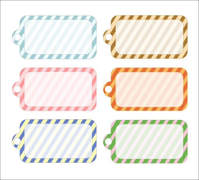 Gift Tag Template   Free & Premium Templates