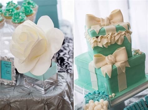 Breakfast @ Tiffany?s Bridal Shower Dessert Table