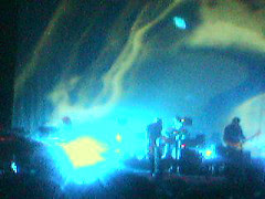 (via mobile phone) Sigur Ros in action 4