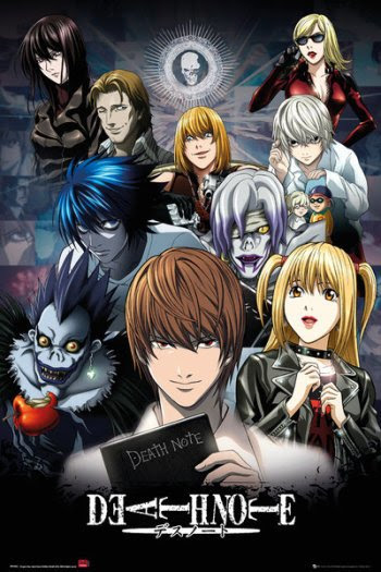 Resultat d'imatges de death note anime