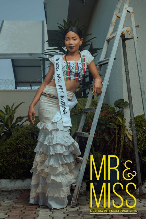 Mr And Miss Nigeria International 2016 Finalist In Their Tradition Attires