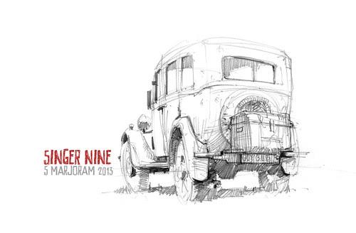 singer nine by Stefan Marjoram