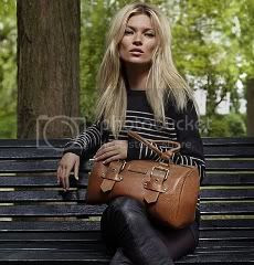 Kate Moss Fall 2011 Longchamp Collection