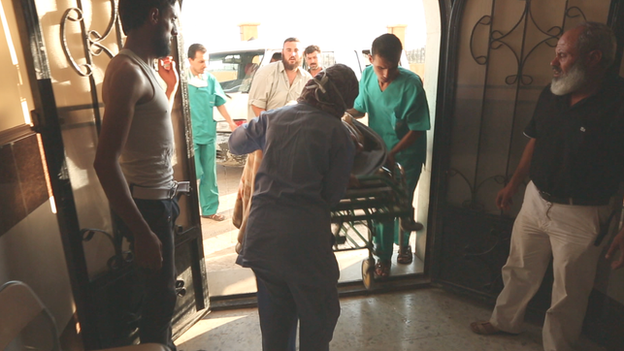 Syria hospital overwhelmed after bomb attack
