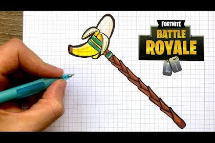 Dibujos De Fortnite Banana