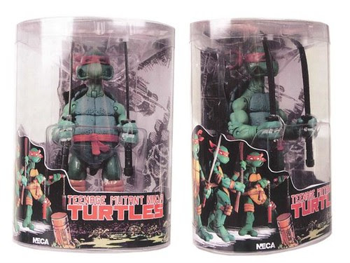 NECA TMNT // Tube Packs - unfinished mock-up (( Via B.B. Toystore - Special Thanks to RM.. ))