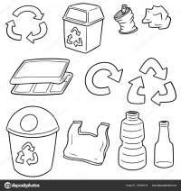 Dibujos De Basura Inorganica Dibujos Para Colorear